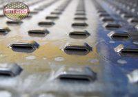 Perforacja szczelinowo mostkowa