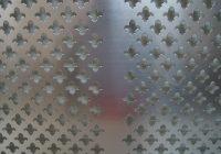 Blacha Perforowana aluminiowa ozdobna