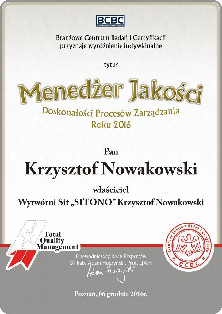 Sitono Krzysztof Nowakowski