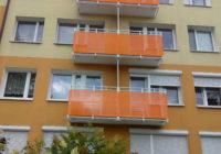balkony z blachy perforowanej